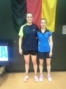 Nach dem Halbfinale Judith Petrikowski Hannah Schiwon