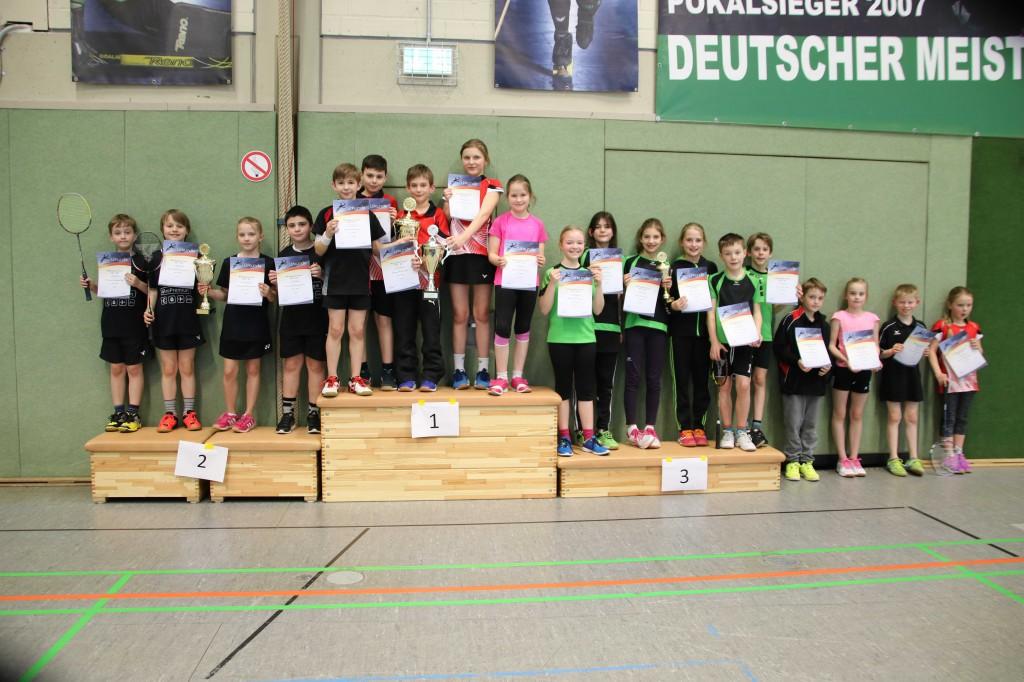 Siegerehrung Mini U11 Bezirksmannschaftsmeisterschaft web