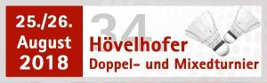 Hövelhofer Doppel- und Mixedturnier 2018