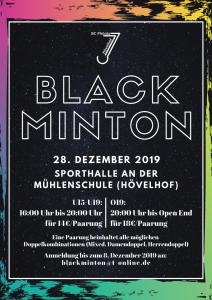 Blackminton-Turnier 2019