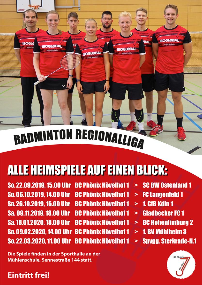 Regionalliga-Badminton in Hövelhof